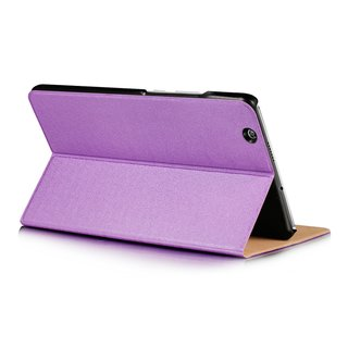 Tasche für Huawei Honor Pad 2 8.0 Zoll Schutz Hülle Flip Tablet Cover Case (Lila)