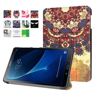 Smart Design Cover für Samsung Galaxy Tab A SM-T580 SM-T585 10.1 Zoll
