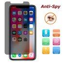 Anti-Spy Schutzglasfolie für Apple iPhone X / iPhone 10...