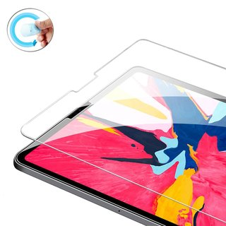 2x Flexible Nano-Schutzfolie für Apple iPad Pro 12.9 2018 (A1876/A2014/A1895/A1983) Displayschutz Screen Protector blasenfrei