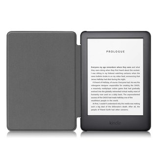 Hülle für Amazon Kindle 2019 (10. Generation) 6 Zoll Smart Cover Etui mit Standfunktion und Auto Sleep/Wake Funktion Rot
