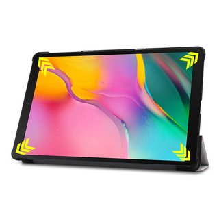 Hülle für Samsung Galaxy Tab A 10.1 SM-T510 10.1 Zoll Smart Cover Etui mit Standfunktion