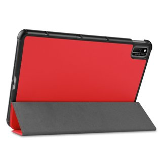 Cover für Huawei Honor V6 10.4 Zoll  Tablethülle Schlank mit Standfunktion und Auto Sleep/Wake Funktion Rot