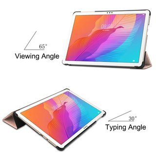 Hülle für Huawei Honor Tablet 6/MatePad T10/T10S 10.1 Zoll  Smart Cover Etui mit Standfunktion und Auto Sleep/Wake Funktion Bronze
