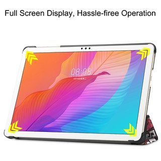 Tablet Hülle für Huawei Honor Tablet 6/MatePad T10/T10S 10.1 Zoll  Slim Case Etui mit Standfunktion und Auto Sleep/Wake Funktion